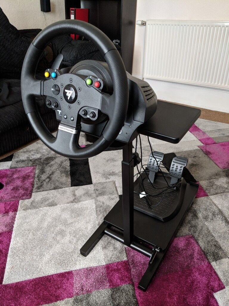 Thrustmaster TMX force feedback sim racing steering wheel, pedals and stand  for xbox one pc | in Airdrie, North Lanarkshire | Gumtree