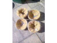 Garden Hanging Baskets x4
