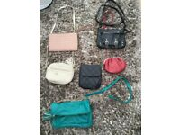 Selection of Ladies handbags, VGC. will sell separately or £10 the lot.