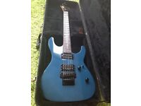 ESP LTD M102 Guitar - Rare gun metal blue