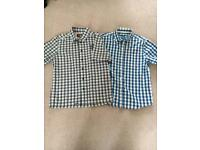 O'neil & Next short sleeve shirts age 7/8