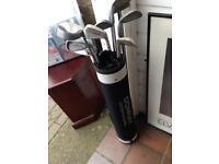 Donnay International Golf Clubs Set Bag Driver Irons