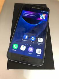 Samsung galaxy S7 black 32gb 4G factory unlocked boxed