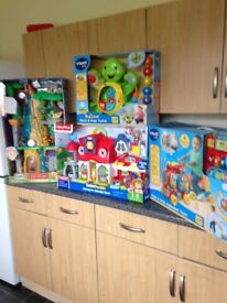 4 boxed brand new child's toys