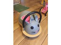 Mouse ride on kids toy