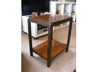 Small Vintage Dark Wood Table
