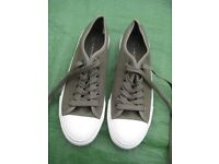 Brand New Brown Atmosphere Plimsoll Shoes - UK Size 5/Euro Size 38