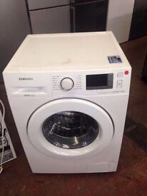 SAMSUNG WASHING MACHINE 9KG DIGITAL INVERTER WHITE RECONDITIONED
