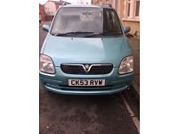 VAUXHALL AGILA 2003, low mileage, long MOT, great condition £950