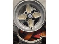 Ford RS alloy wheels