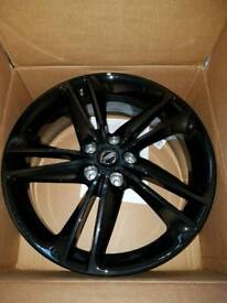 Nissan Qashqai X Trail Black 19 Alloy Wheels Genuine Part New