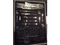 Judge 44 piece cutlery set