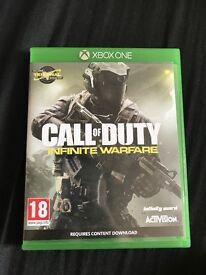 Call of duty infinite warfare Xbox one game