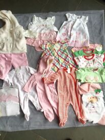 Bundle of baby girls clothing all NWT! Great Christmas gift.