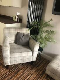 Arm Chair & Foot Puff