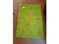ColourMatch Futon Double Mattress - Apple Green