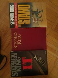 OAKVILLE  3 Stephen King Books Hardcovers Collectable Early Novels