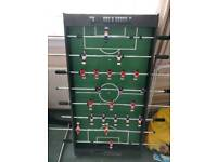 Foozeball table