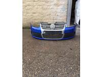 Genuine MK5 golf r32 genuine front bumper complete