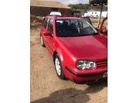 Vw golf mk4 estate good condition got aircon sunroof cd 2x remote keys make a good family car