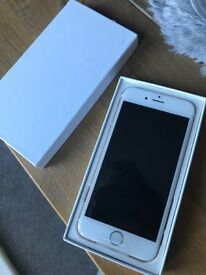 gold i phone 6 16GB locked to EE network, never been used still in the box