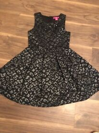 Girls party dress aged 8-9