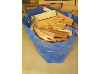 KINDLING DRYED HARD FIRE WOOD-APPROX 15KG BAGS-IDEAL FOR WOOD BURNERS OR STOVES, MUST COLLECT SA5