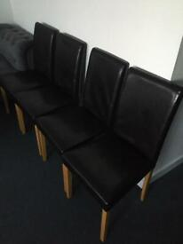 Free delivery chairs x4