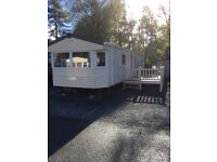 Tummel valley Perthshire 3 bed Static Caravan at to rent availability from Monday