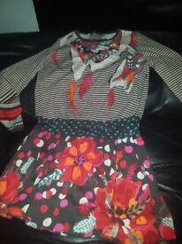 Girls catimini dress