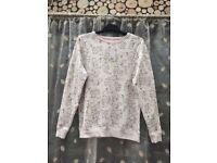 Women's George rabbit & squirrel print jumper, size 8-10