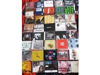 85 indie rock rough trade CD single collection bundle lot kasabian elbow travis franz ferdinand