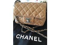 Chanel mini hand bag (Brown)