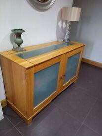 Lovely Oak Veneer Sideboard for sale