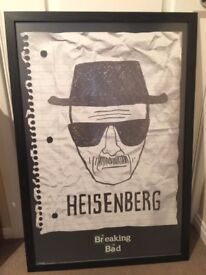 Breaking Bad Heisenberg 61cm x 91cm Framed Poster