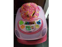 Chicco Pink Baby Walker
