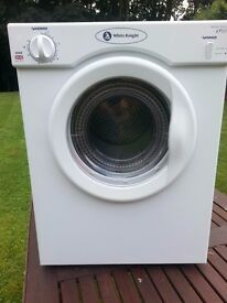 TUMBLE DRYER AS NEW