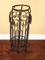Porte-plante à fer forgé - Vintage wrought iron planter