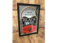 Bushmills Black Bush mirror