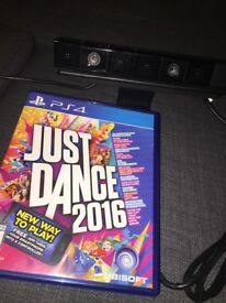 PS4 video camera & just dance 2016