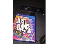 PS4 video camera & just dance 2016