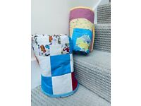 BABY COT QUILTS/PLAY MATS - 132X87 CM - NEW
