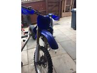 Yfz250f motocross bike