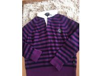 Emporio Armani designer men's wool jumper