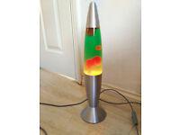"Lava lamp 18""- 46cm green-red"