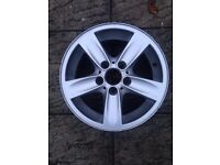 BMW 1 Series 5 spoke 5 stud alloy wheel no tyre
