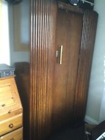 Art Deco tallboy, and dressing table