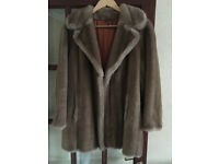 Vintage Faux Coat by Debenhams - Excellent Condition