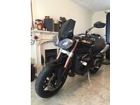 Triumph Speed Triple 1050 BLACK 2011