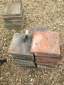 """Square pavers to clear..9"""" x 9"""" and we have about 30 REDUCED"""